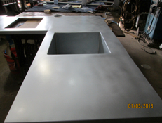 Roto Metals Countertop