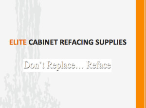 ELITE CABINET REFACING SUPPLIES - logo white